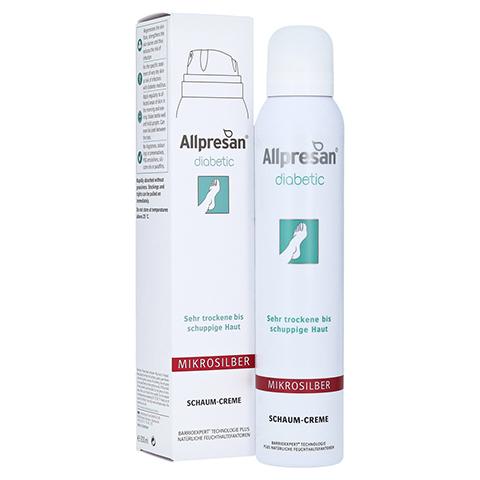 Allpresan diabetic MIKROSILBER Schaum-Creme 200 Milliliter