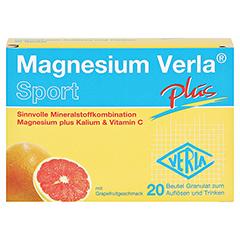 MAGNESIUM VERLA plus Granulat 20 Stück - Vorderseite