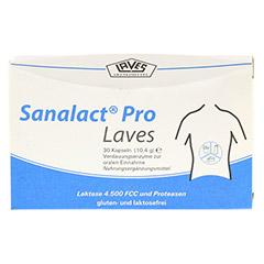 SANALACT Pro Laves Kapseln 30 Stück - Vorderseite