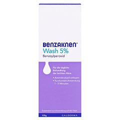 Benzaknen Wash 5% 100 Gramm N3 - Vorderseite