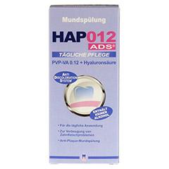 HAP012 PVP-VA 0,12+Hyaluronsäure Mundspülung 200 Milliliter - Vorderseite