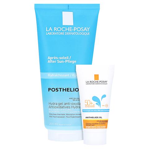 La Roche-Posay Posthelios After Sun Pflege Gesicht & Körper + gratis La Roche Posay Anth. W Gel LSF 50+ 15ml 200 Milliliter