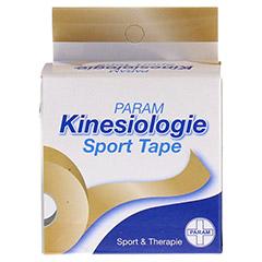 KINESIOLOGIE Sport Tape 5 cmx5 m beige 1 Stück - Vorderseite