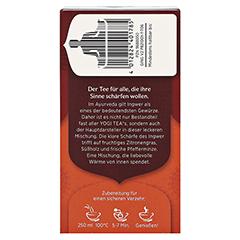 YOGI TEA Ingwer Bio Filterbeutel 17x1.8 Gramm - Rechte Seite