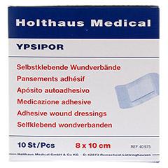 WUNDVERBAND Ypsipor steril 7,5x10 cm 10 Stück - Vorderseite