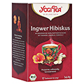 YOGI TEA Ingwer Hibiskus Bio Filterbeutel 17x2 Gramm