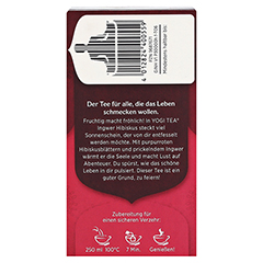 YOGI TEA Ingwer Hibiskus Bio Filterbeutel 17x2 Gramm - Rechte Seite