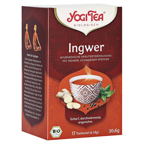 YOGI TEA Ingwer Bio Filterbeutel 17x1.8 Gramm