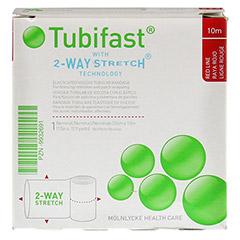 TUBIFAST 2-Way Stretch 3,5 cmx10 m rot 1 Stück - Vorderseite