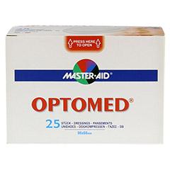 OPTOMED Augenkompressen steril selbstklebend 25 Stück - Vorderseite