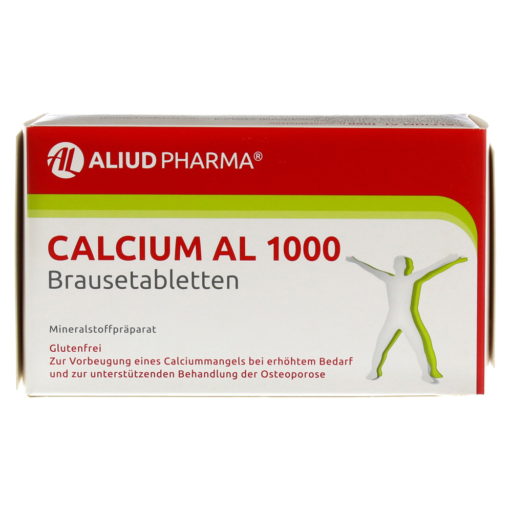 calcium al 1000 100 st ck online bestellen medpex. Black Bedroom Furniture Sets. Home Design Ideas