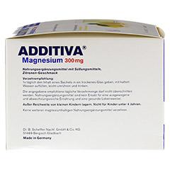 ADDITIVA Magnesium 300 mg N Pulver 40 Stück - Linke Seite
