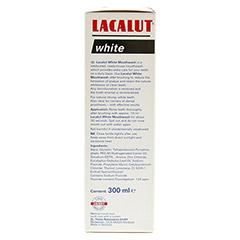 LACALUT white Mundspül-Lösung 300 Milliliter - Linke Seite