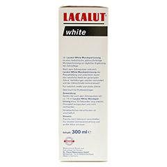 LACALUT white Mundspül-Lösung 300 Milliliter - Rechte Seite