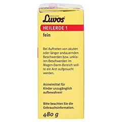LUVOS Heilerde 1 fein 480 Gramm - Rechte Seite