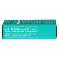 LACTOSTOP 14.000 FCC Tabletten Spender 40 Stück - Rechte Seite