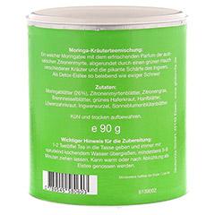 DUOWELL Moringa-Detoxtee 90 Gramm - Rückseite