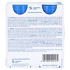 FRESUBIN 5 kcal SHOT Neutral Lösung 4x120 Milliliter - Rückseite