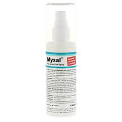 MYXAL Fuß-Spray 100 Milliliter - Rückseite