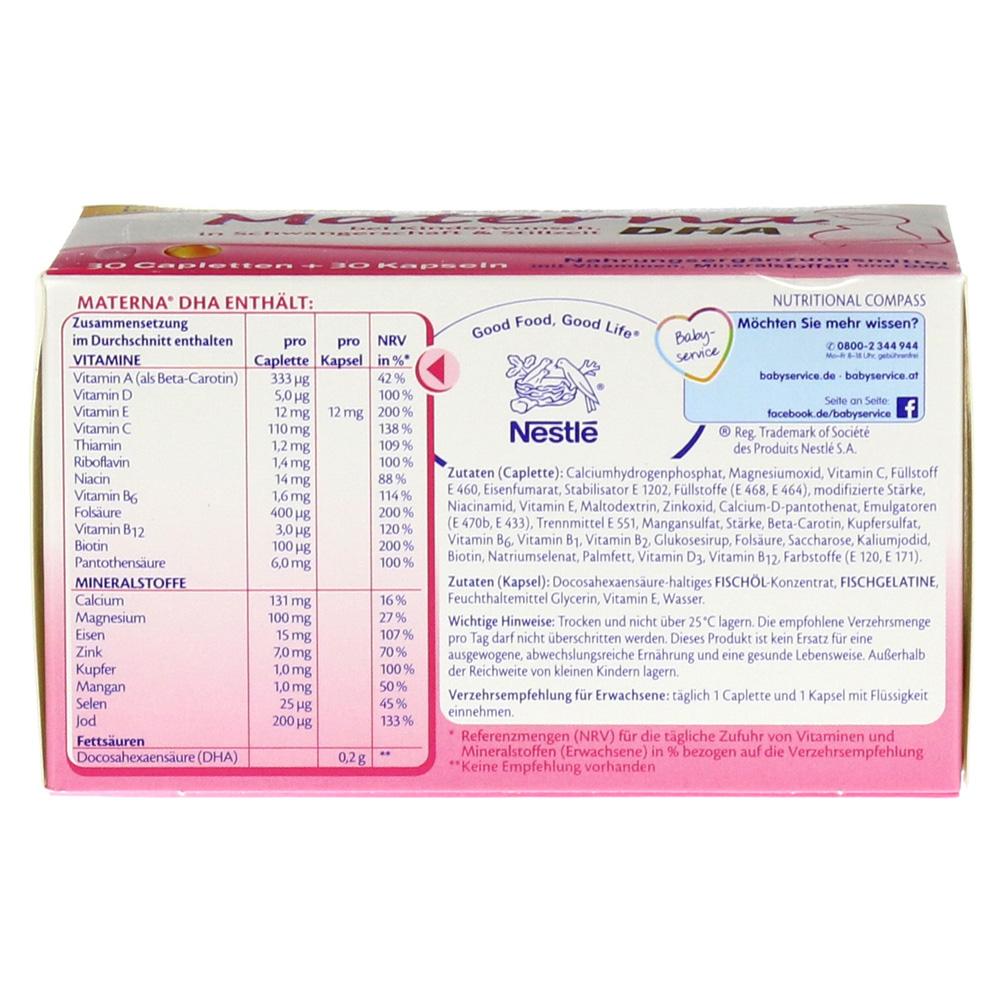 Nestle Materna Dha Erfahrungen