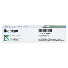 Hametum Hämorrhoidensalbe 50 Gramm - Unterseite