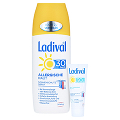 Ladival Allergische Haut Spray LSF 30 + gratis Ladival mattierendes Fluid LSF 30 (5 ml) 150 Milliliter