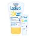Ladival Allergische Haut Gel LSF 30 + gratis Ladival mattierendes Fluid LSF 30 (5 ml) 50 Milliliter