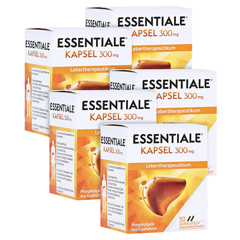 Essentiale Kapsel 300mg 250 St�ck