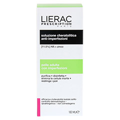 LIERAC Prescription keratolytische Lotion 100 Milliliter - Rückseite