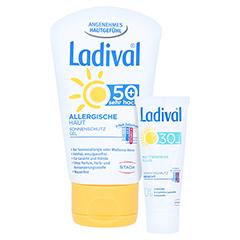 Ladival Allergische Haut Gel LSF 50+ + gratis Ladival mattierendes Fluid LSF 30 (5 ml) 50 Milliliter