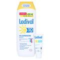 Ladival Allergische Haut Sonnenschutz Gel LSF 30 + gratis Ladival mattierendes Fluid LSF 30 (5 ml) 250 Milliliter