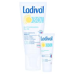 Ladival Mattierendes Fluid Sonnenschutz Gesicht LSF 30 + gratis Ladival mattierendes Fluid LSF 30 (5 ml) 50 Milliliter