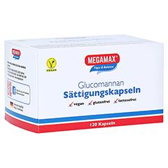 MEGAMAX Sättigungskapseln Glucomannan 120 Stück