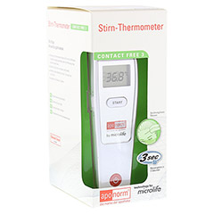 APONORM Fieberthermometer Stirn Contact-Free 3 1 Stück