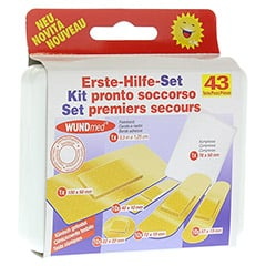 ERSTE HILFE Set 43 Teile 1 Stück