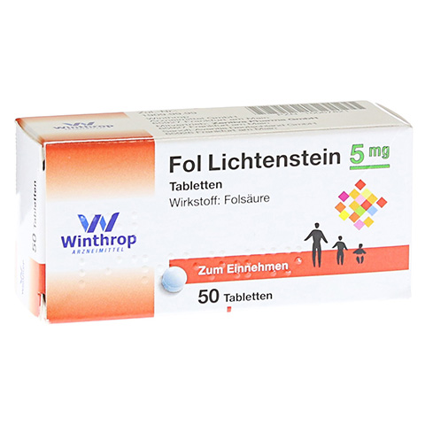 FOL Lichtenstein 5 mg Tabletten 50 Stück N2