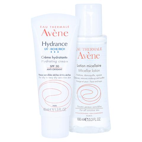 Avène Hydrande UV reichhaltig Feuchtigkeitscreme LSF 30 + gratis AVENE Mizellen Reinigungslotion 100 ml 40 Milliliter
