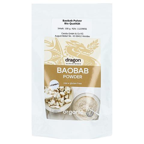 BAOBAB Pulver Bio Qualität 100 Gramm