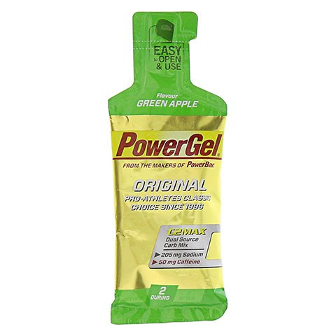 POWERBAR PowerGel Green Apple+Koffein 41 Gramm
