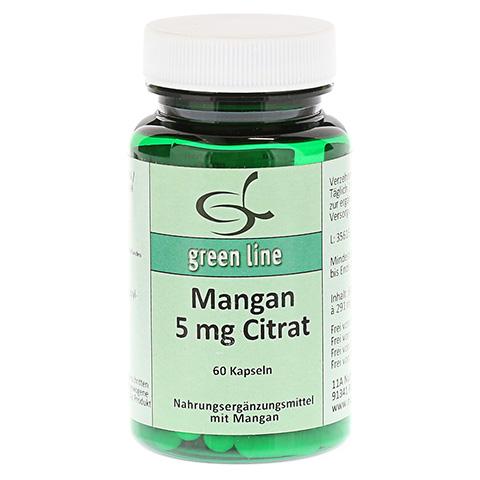 MANGAN 5 mg Citrat Kapseln 60 Stück