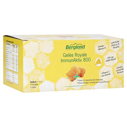 GELEE ROYALE ImmunAktiv 800 15 ml Trinkampullen 14 Stück