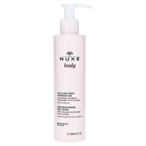 NUXE Body Lait Fluide Corps Hydratant 24h 200 Milliliter