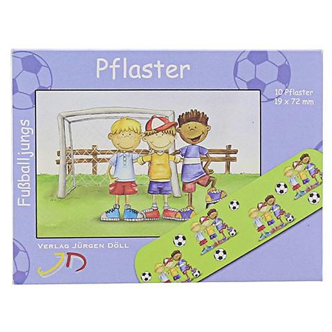 KINDERPFLASTER Fußballjungs Briefchen 10 Stück