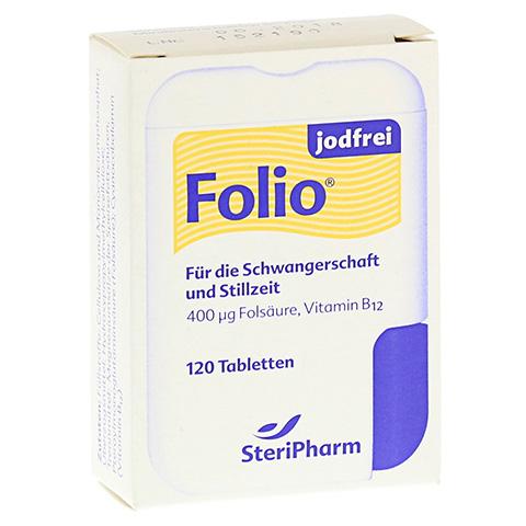 Folio jodfrei Tabletten 120 Stück