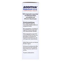 ADDITIVA Magnesium 375 mg+Vitamin B-Komplex+Vit.C 20x6 Gramm - Rechte Seite