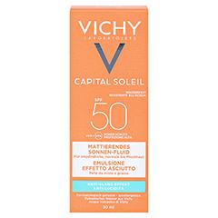 Vichy Ideal Soleil Mattierendes Sonnen-Fluid für das Gesicht LSF 50 + gratis Vichy Ideal Soleil After-Sun 50 Milliliter - Vorderseite