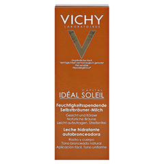 Vichy Ideal Soleil Selbstbräuner-Milch + gratis Vichy Ideal Soleil After-Sun 100 Milliliter - Vorderseite