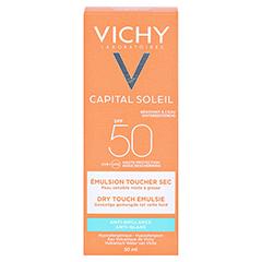 Vichy Ideal Soleil Mattierendes Sonnen-Fluid für das Gesicht LSF 50 + gratis Vichy Ideal Soleil After-Sun 50 Milliliter - Rückseite