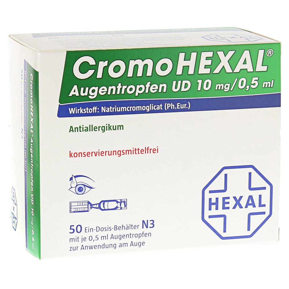 Hexal AG CromoHEXAL Augentropfen UD Augentropfen 50 Stück