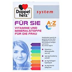 DOPPELHERZ FÜR SIE system Tabletten 30 Stück - Vorderseite